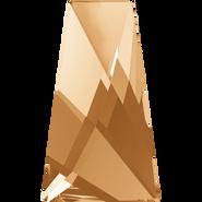 Swarovski Flatback 2770 - 12x7mm, Crystal Golden Shadow (001 GSHA) Foiled, No Hotfix, 192pcs
