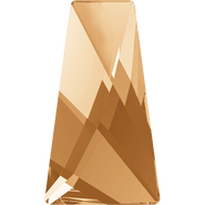 Swarovski Flatback 2770 - 6x3.5mm, Crystal Golden Shadow (001 GSHA) Foiled, No Hotfix, 1440pcs