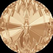 Swarovski 3015 - 12mm, Crystal Golden Shadow (001 GSHA) Foiled, 48pcs