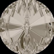 Swarovski 3015 - 14mm, Crystal Satin (001 SAT) Foiled, 36pcs