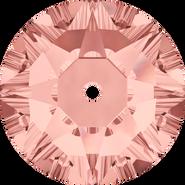 Swarovski Sew-on 3188 - 3mm, Blush Rose (257) Foiled, 1440pcs