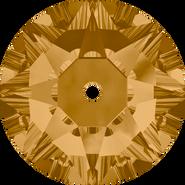 Swarovski Sew-on 3188 - 3mm, Light Colorado Topaz (246) Foiled, 1440pcs