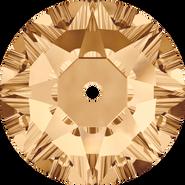 Swarovski Sew-on 3188 - 5mm, Crystal Golden Shadow (001 GSHA) Foiled, 720pcs
