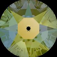 Swarovski Sew-on 3188 - 5mm, Crystal Iridescent Green (001 IRIG) Foiled, 720pcs