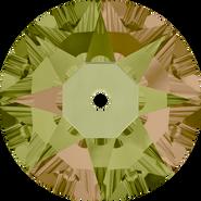 Swarovski Sew-on 3188 - 5mm, Crystal Luminous Green (001 LUMG) Foiled, 720pcs