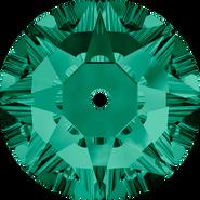 Swarovski Sew-on 3188 - 5mm, Emerald (205) Foiled, 720pcs