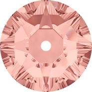 Swarovski Sew-on 3188 - 6mm, Blush Rose (257) Foiled, 360pcs