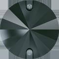 Swarovski Sew-on 3200 - 10mm, Jet Hematite (280 HEM) Unfoiled, 72pcs