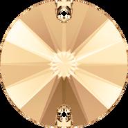Swarovski Sew-on 3200 - 10mm, Light Colorado Topaz (246) Foiled, 72pcs