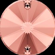 Swarovski Sew-on 3200 - 12mm, Blush Rose (257) Foiled, 72pcs