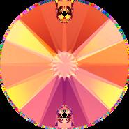Swarovski Sew-on 3200 - 12mm, Crystal Astral Pink (001 API) Foiled, 72pcs