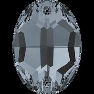 Swar Sew-on 3210 - 16x11mm, Crystal Silver Night (001 SINI) Unfoiled, 72pcs