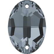 Swar Sew-on 3210 - 24x17mm, Crystal Silver Night (001 SINI) Unfoiled, 24pcs