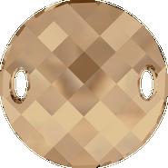 Swarovski Sew-on 3221 - 18mm, Crystal Golden Shadow (001 GSHA) Unfoiled, 72pcs