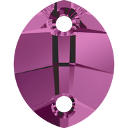 Swarovski 3224 - 23x18mm, Amethyst (204) Unfoiled, 30pcs