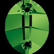 Swarovski 3224 - 23x18mm, Dark Moss Green (260) Unfoiled, 30pcs