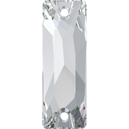 Swarovski Sew-on 3255 - 18x6mm, Crystal (001) Foiled, 96pcs