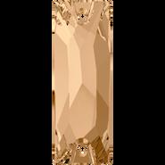 Swarovski Sew-on 3255 - 18x6mm, Crystal Golden Shadow (001 GSHA) Foiled, 96pcs