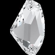 Swarovski Sew-on 3256 - 14x8.5mm, Crystal (001) Foiled, 96pcs