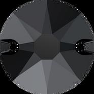 Swarovski Sew-on 3288 - 12mm, Jet (280) Unfoiled, 72pcs