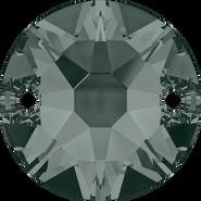 Swarovski Sew-on 3288 - 8mm, Black Diamond (215) Foiled, 144pcs