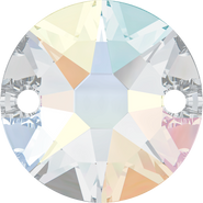 Swarovski Sew-on 3288 - 8mm, Crystal Aurore Boreale (001 AB) Foiled, 144pcs