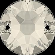 Swarovski Sew-on 3288 - 8mm, Crystal Moonlight (001 MOL) Foiled, 144pcs