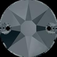 Swarovski Sew-on 3288 - 8mm, Crystal Silver Night (001 SINI) Unfoiled, 144pcs
