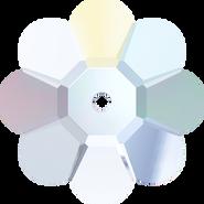 Swarovski Sew-on 3700 - 8mm, Crystal Aurore Boreale (001 AB) Unfoiled, 288pcs