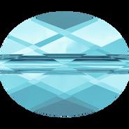 Swarovski Bead 5051 - 10x8mm, Aquamarine (202), 144pcs
