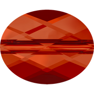 Swarovski Bead 5051 - 10x8mm, Crystal Red Magma (001 REDM), 144pcs