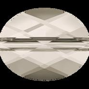 Swarovski Bead 5051 - 10x8mm, Crystal Silver Shade (001 SSHA), 144pcs
