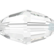 Swarovski Bead 5200 - 7.5x5mm, Crystal (001), 360pcs