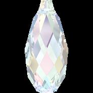 Swarovski Pendant 6010 - 11x5.5mm, Crystal Aurore Boreale (001 AB), 144pcs