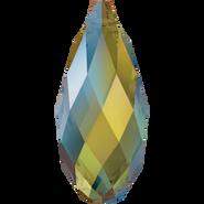 Swarovski Pendant 6010 - 11x5.5mm, Crystal Iridescent Green (001 IRIG), 144pcs