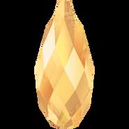 Swarovski Pendant 6010 - 11x5.5mm, Crystal Metallic Sunshine (001 METSH), 144pcs