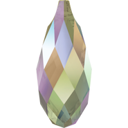 Swarovski Pendant 6010 - 11x5.5mm, Crystal Paradise Shine (001 PARSH), 144pcs