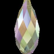 Swarovski Pendant 6010 - 13x6.5mm, Crystal Paradise Shine (001 PARSH), 144pcs