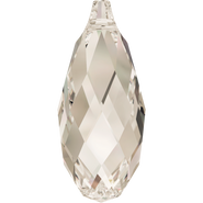 Swarovski Pendant 6010 - 13x6.5mm, Crystal Silver Shade (001 SSHA), 144pcs