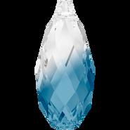Swarovski Pendant 6010 - 13x6.5mm, Crystal-Montana Blend (725), 144pcs