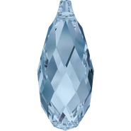 Swarovski Pendant 6010 - 13x6.5mm, Denim Blue (266), 144pcs