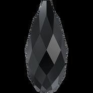 Swarovski Pendant 6010 - 13x6.5mm, Jet (280), 144pcs