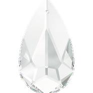 Swarovski Pendant 6100 - 24x12mm, Crystal (001), 36pcs
