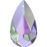 Swarovski Pendant 6100 - 24x12mm, Crystal Vitrail Light (001 VL), 36pcs