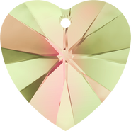 Swarovski Pendant 6228 - 18x17.5mm, Crystal Luminous Green (001 LUMG), 72pcs