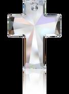Swarovski Pendant 6864 - 40x30mm, Crystal Aurore Boreale (001 AB), 9pcs