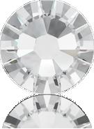 Swarovski Flatback 2058 - ss8, Crystal (001) Foiled, No Hotfix, 96pcs