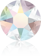 Swar Crystal Hotfix 2078 - ss16, Crystal Aurore Boreale (001 AB), Hotfix, 36pcs