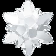 Swarovski Flatback 2753 - 10mm, Crystal (001) Foiled, No Hotfix, 4pcs