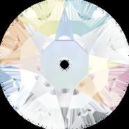 Swarovski Sew-on 3188 - 5mm, Crystal Aurore Boreale (001 AB) Foiled, 20pcs